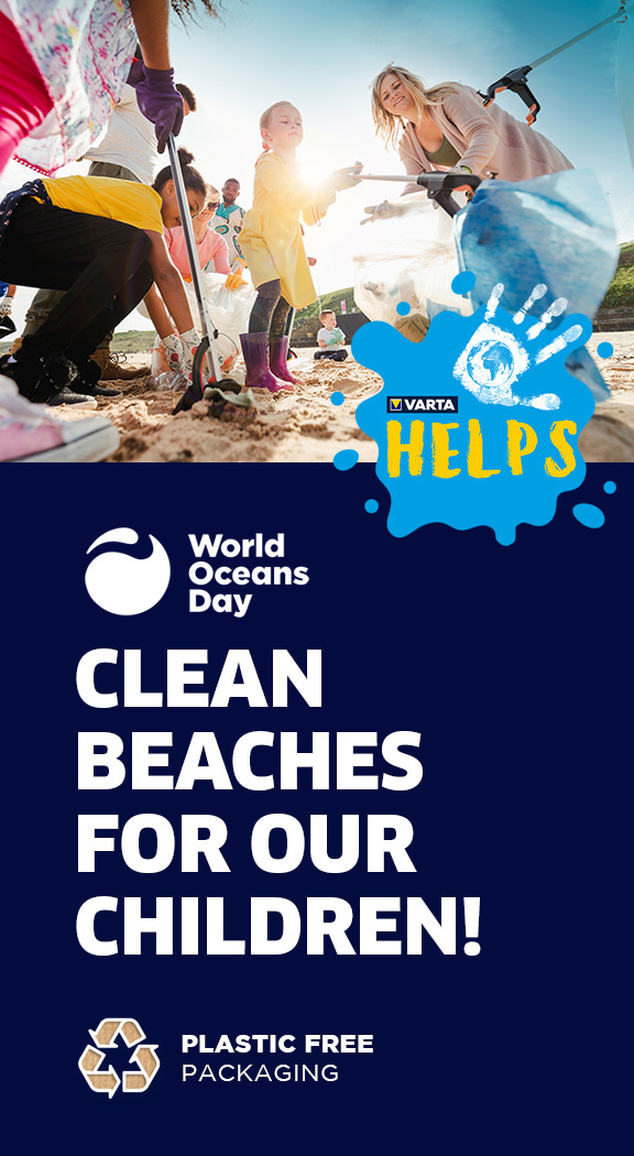 VARTA Helps - World Oceans Day